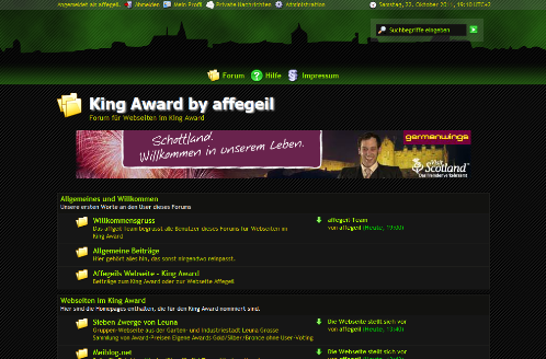 Titelbild zum Forum King Award by affegeil