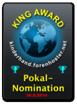 King Award Pokalnomination Kinderhand