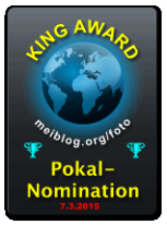 King Award Nominationsschild Meiblog Foto