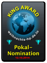 King Award Nominationsschild Weihnachts-HP